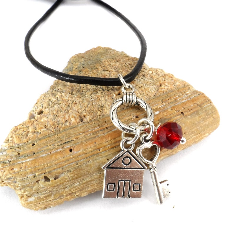 Realtor Charm Necklace Real Estate Agent Jewelry Gift for image 0