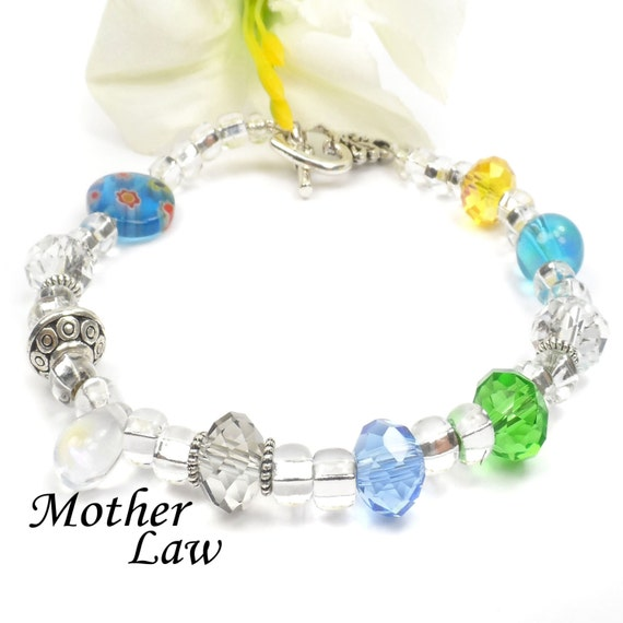 Special Gift For Mother In Law Poem Bracelet Birthday