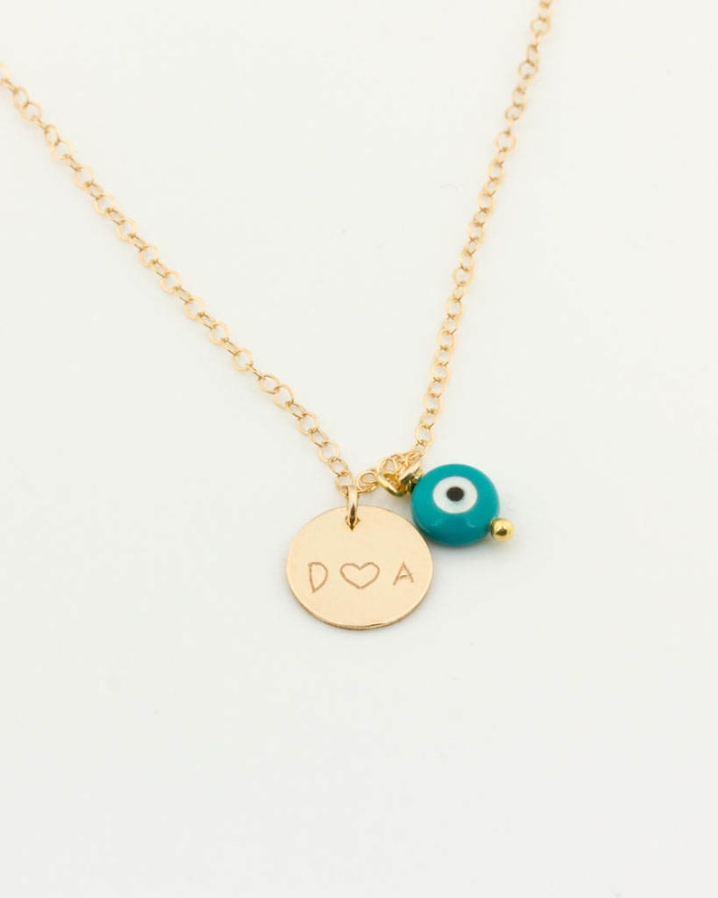 Personalize your bracelet or your necklace with an evil eye  image 0