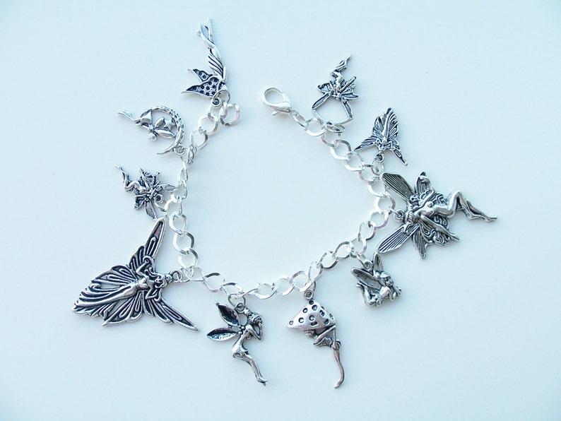 321a70220a00 Pulsera hada - hadas bosque de encanto metal fantasía pulseras - joyas para  hadas encanto pulsera - encantos de hadas metal - fantasía-