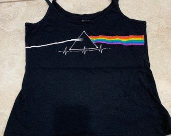0af1d03301f031 Vintage 90s Pink Floyd Cropped Tank Top S