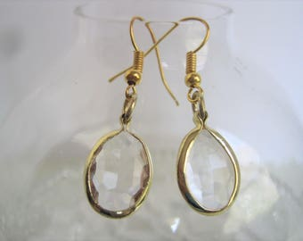 Hypo Allergenic 22K Gold-Plated Fishhook Earrings Costume Jewelry
