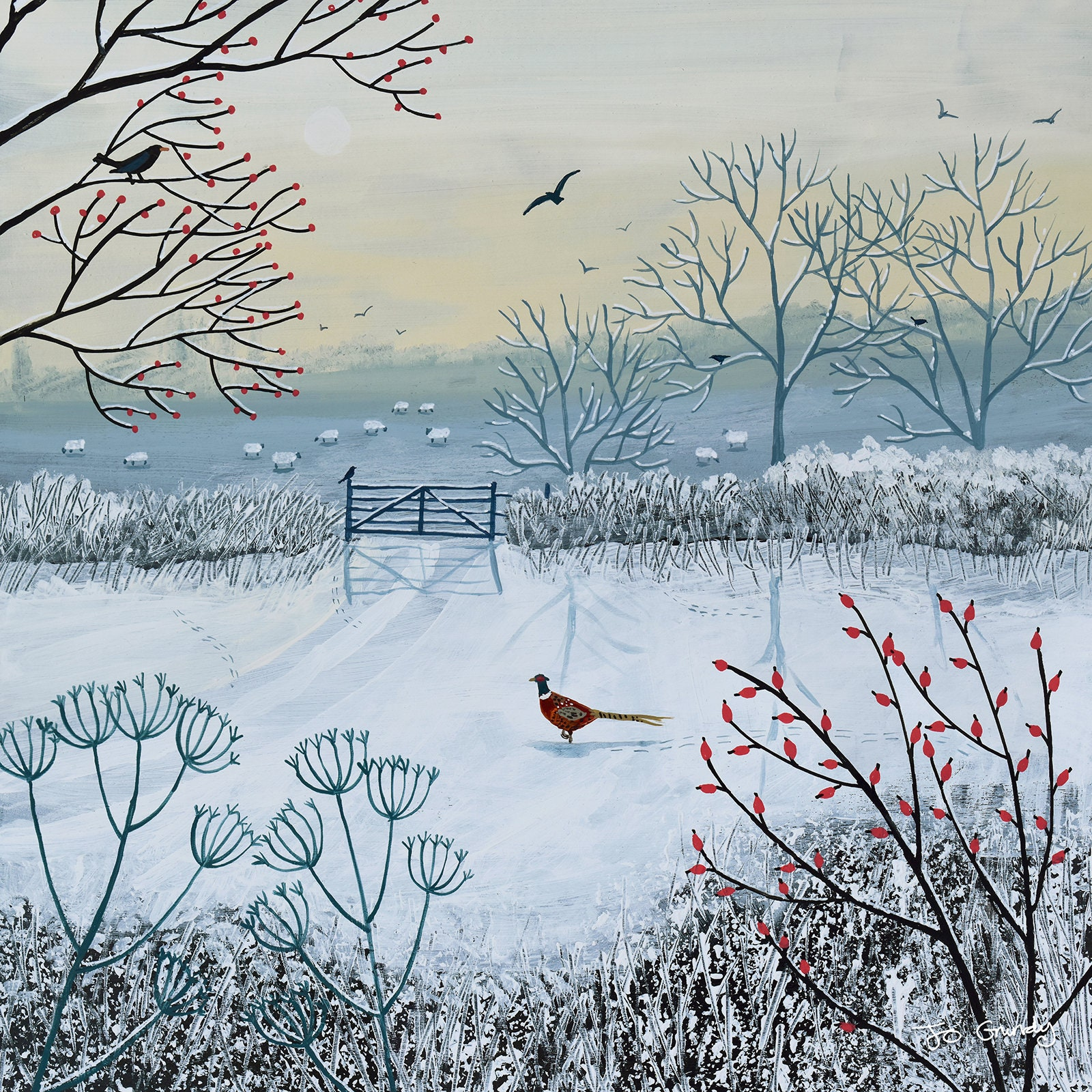 winter Serenity Jo Grundy