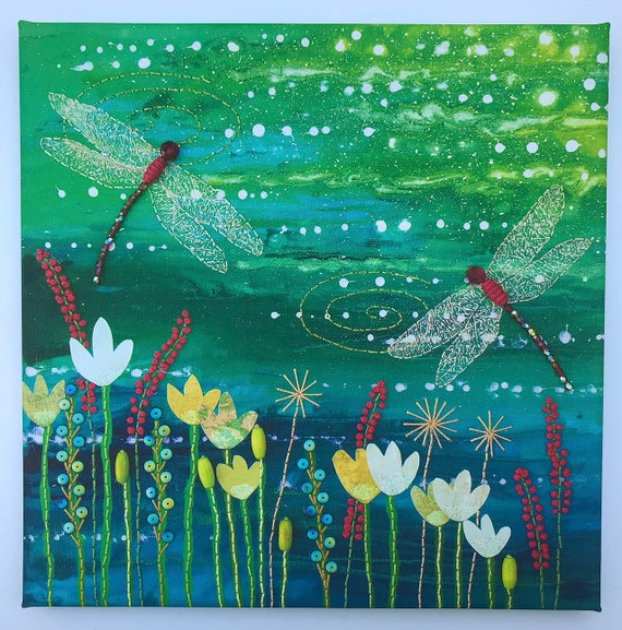 Pintura De Flores Capas Plantillas para paredes Decoración de álbum de recortes sello cpev
