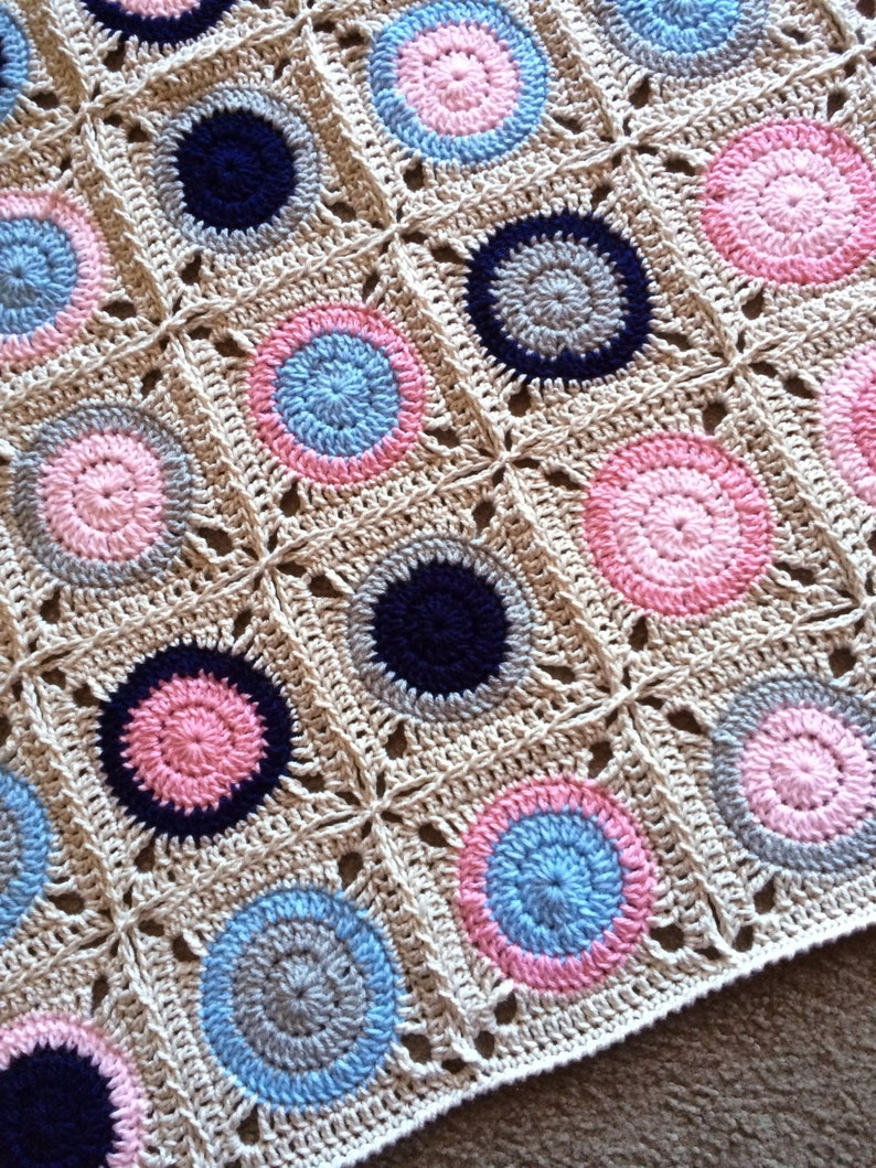 Pattern  BabyLove Brand Gumball Blanket  Crochet image 0