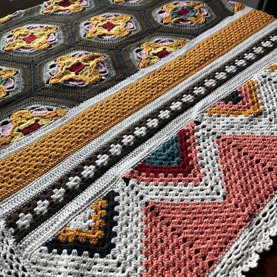 Ready to Ship handmade crochet blanket/baby blanket/newborn gift/modern handmade/perfect popular gift toddler/baby shower