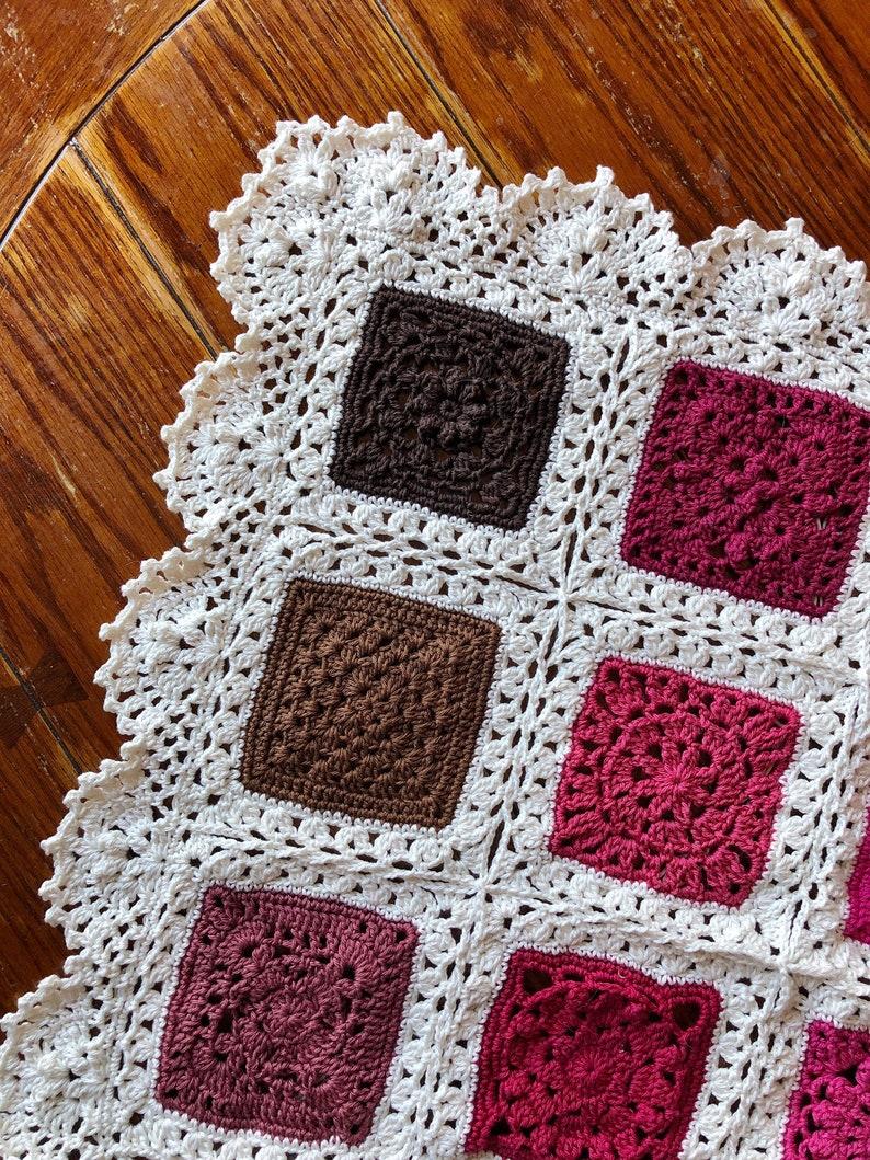 2020 VVCAL FULL PATTERN patterns/crochet baby blanket/wedding image 0