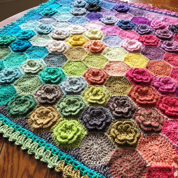 CROCHET BABY AFGHAN/crochet blanket afghan pattern/popular crochet pattern/crochet baby blanket/easy crochet/baby shower/happy little tree