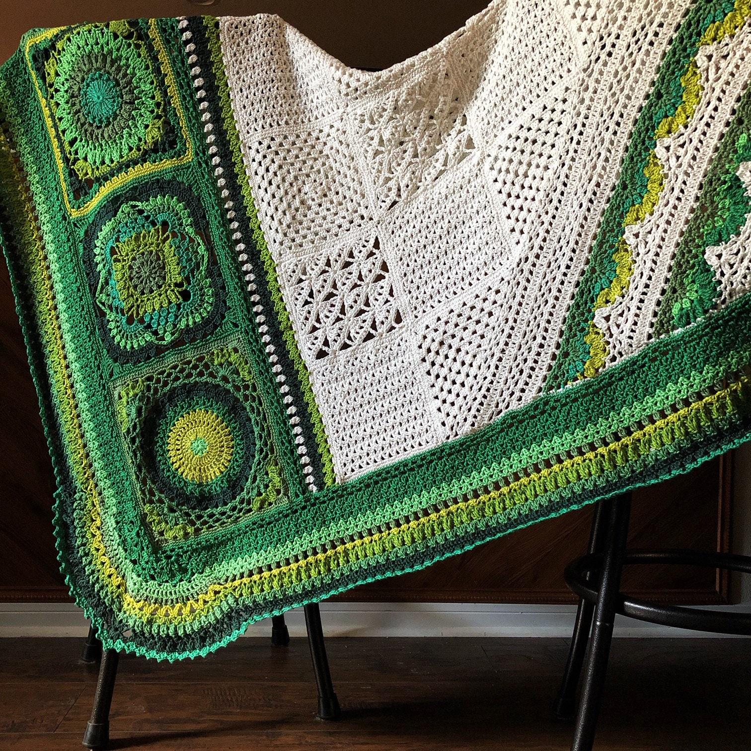 Crochet Wedding Gift Patterns: BOTANICA CROCHET Patterns/crochet Baby Blanket/wedding