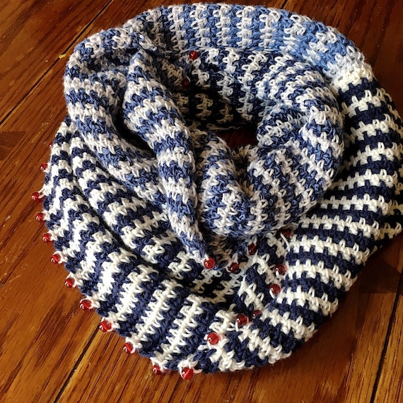 EASY CROCHET SCARF crochet scarf/striped scarf pattern/cowl pattern/crochet cowl/crochet cowl pattern/winter crochet pattern/crochet winter