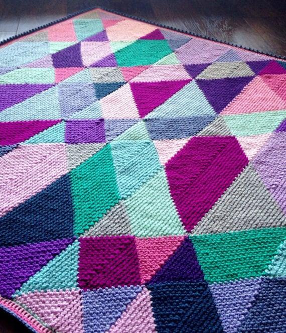 CROCHET BABY BLANKET pattern/Zendoodle crochet Blanket Pattern/modern crochet pattern/crochet afghan/linen stitch