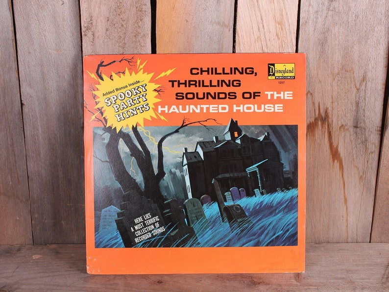 Chilling Thrilling Sounds of the Haunted House Halloween Disneyland Record