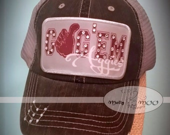 Texas Aggies Destructed Trucker Hat
