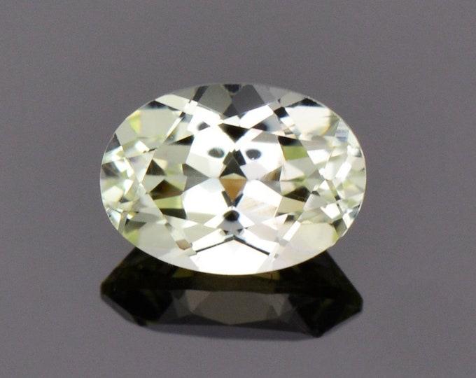 SALE! Stunning Yellow Chrysoberyl Gemstone from Sri Lanka, 1.05 cts., 7x5 mm., Oval Shape