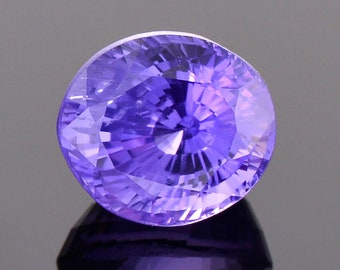 SALE! Stunning Purple Spinel Gemstone from Sri Lanka, 2.33 cts., 7.7 x 6.8 mm., Oval Shape