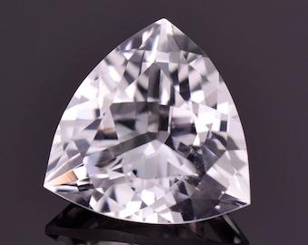 Excellent Rare Phenakite Gemstone from Nigeria, 7.60 cts., 14 mm., Trillion Shape