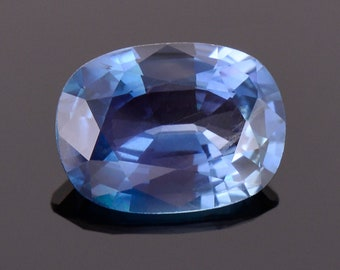 Excellent Blue Sapphire Gemstone with Laboratory Report, 2.27 cts., 9.5x7.0 mm., Oval Shape