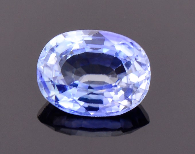 Lovely Bright Blue Sapphire Gemstone from Sri Lanka, 1.50 cts., 7.8x6.0 mm., Oval Shape