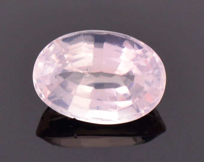 Pretty Pink Rose Quartz Gemstone from Brazil, 5.53 cts., 13.7x9.6 mm., Oval Shape
