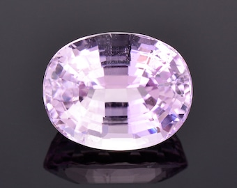 SALE! Fantastic Pink Kunzite Gemstone from Afghanistan, 18.51 cts., 17.4x13.7 mm., Oval Shape
