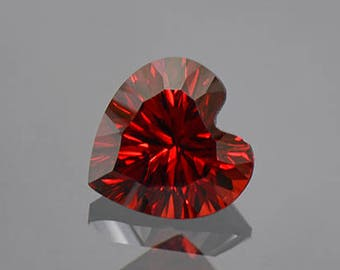 SALE! Beautiful Deep Red Rhodolite Garnet Gemstone from Tanzania 2.26 cts.