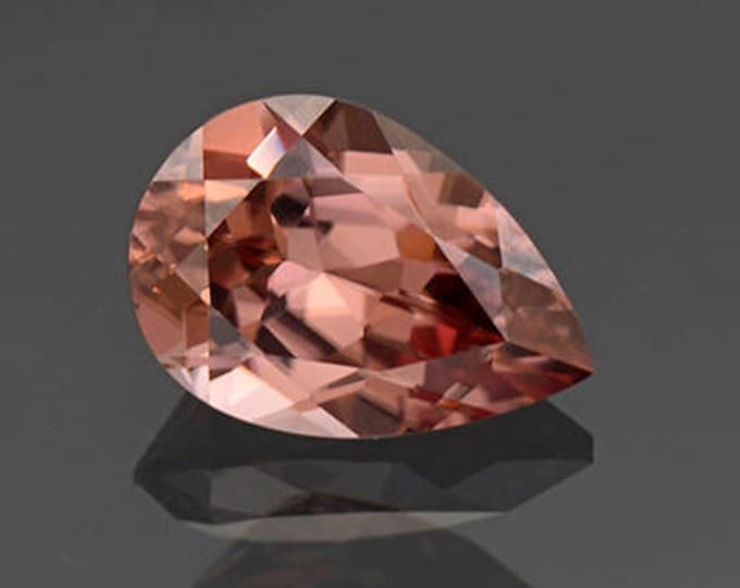 Fantastic Pink Champagne Zircon Gemstone from Tanzania 3.14 cts.