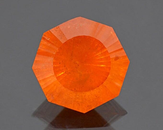 Large Bright Orange Spessartine Garnet Gemstone from Nigeria 12.19 cts.