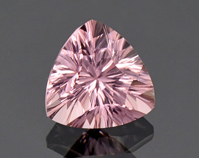 Lovely Pastel Pink Concave Tourmaline Gemstone from Afghanistan 3.47 cts.