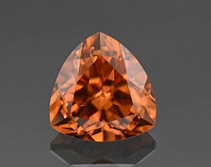 Stunning Bright Orange Zircon Gemstone from Tanzania 2.58 cts.