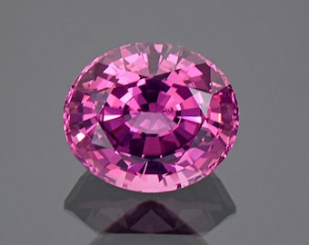 SALE! Dazzling Rose Pink Spinel Gemstone from Tanzania 3.51 cts.