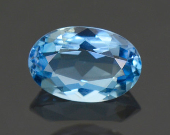 Superb Denim Blue Aquamarine Gemstone from Idaho 1.38 cts.