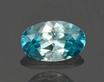 SALE! Fantastic Blue Zircon Gemstone from Cambodia 1.68 cts.