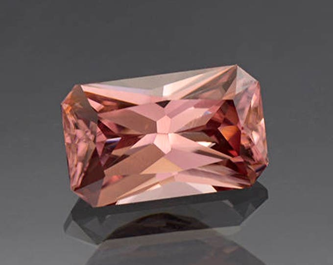 Superb Pink Champagne Zircon Gemstone from Tanzania 5.07 cts.