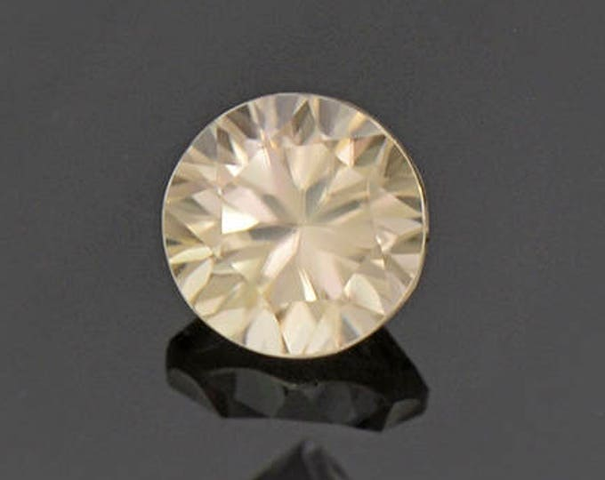 Bright Champagne Zircon Gemstone from Australia 1.08 cts.