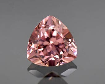 Excellent Pink Champagne Zircon Gemstone from Tanzania 2.58 cts.