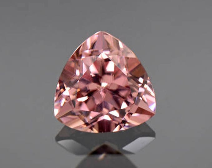 HOLIDAY SALE! Excellent Pink Champagne Zircon Gemstone from Tanzania 2.58 cts.