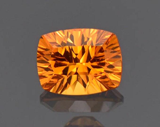 Bright Orange Spessartine Garnet Gemstone from Nigeria 1.41 cts.