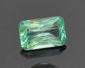 SALE! Nice Mint Green Emerald Gemstone from Colombia 0.76 cts.