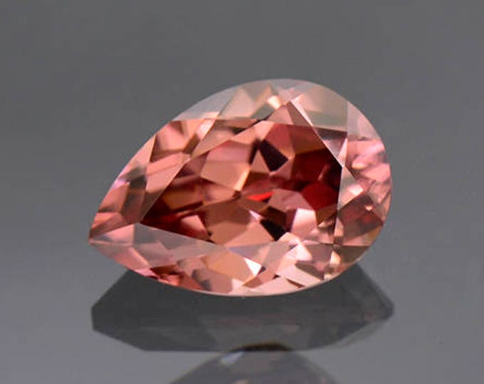 Excellent Pink Champagne Zircon Gemstone from Tanzania 2.15 cts.