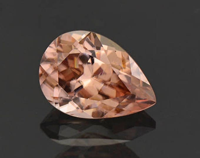 Excellent Champagne Pink Zircon Gemstone from Tanzania 3.20 cts.