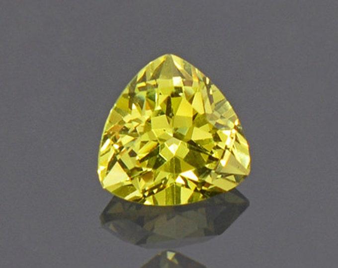 Bright Yellow Grandite Garnet Gemstone from Mali 0.98 cts.
