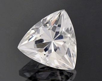 Brilliant White Quartz Gemstone from Brazil 13.39 cts.