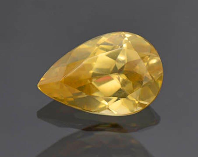 Excellent Yellow Scheelite Gemstone from China 4.88 cts.