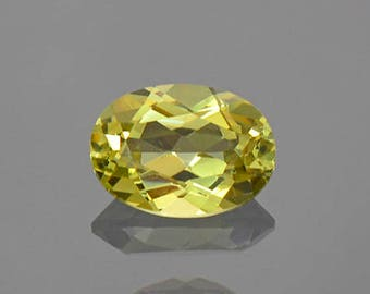 Lovely Yellow Grandite Garnet Gemstone from Mali 0.93 cts.