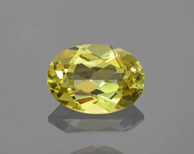 Lovely Yellow Grandite Garnet Gemstone from Mali 0.93 cts.