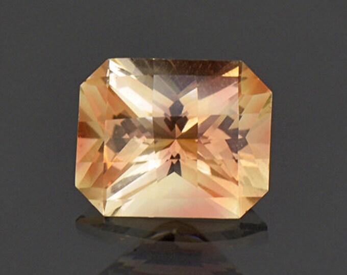 Bright Champagne Copper Checkerboard Cut Sunstone Gem from Oregon 3.63 cts.