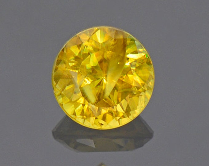 Nice Yellow Sphene Titanite Gemstone from Pakistan 0.67 cts.