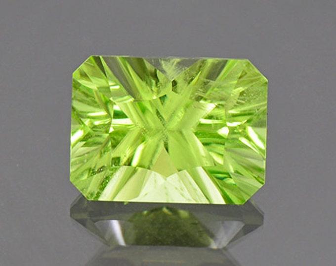 Bright Mint Green Peridot Gemstone from Pakistan 4.24 cts.