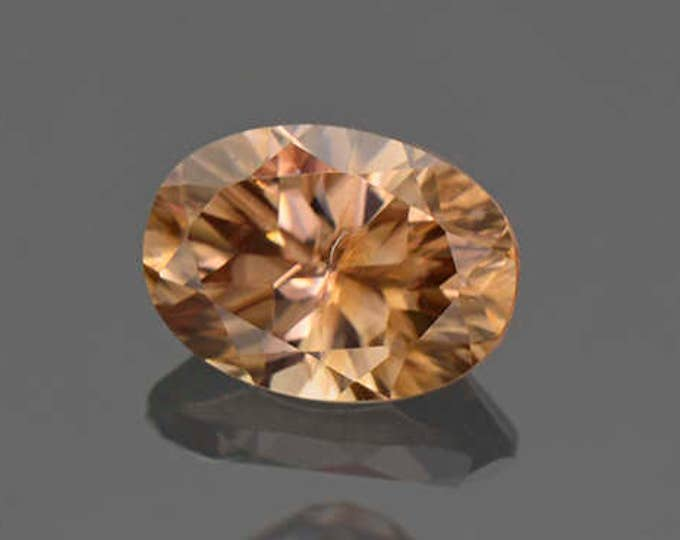Pretty Chocolate Zircon Gemstone from Australia 1.34 cts.