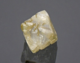 SALE! Excellent Sharp Natural Diamond Crystal from Russia 1.44 cts.